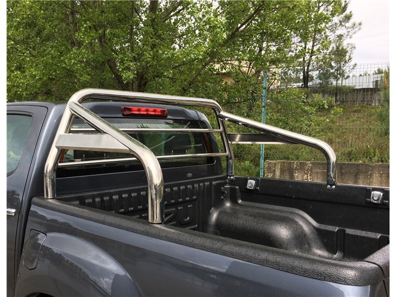 [50.OC5 109/I] ROLL-BAR W/GLASS PROTECTION S.STEEL 63MM ISUZU D-MAX 2020