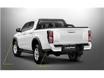 TRIM KIT BACK ABS E&D BLACK  ISUZU D-MAX 2020