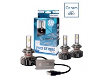 KIT 2 LED BULBS H7 PRO SERIES [OSRAM] 40W 5700K