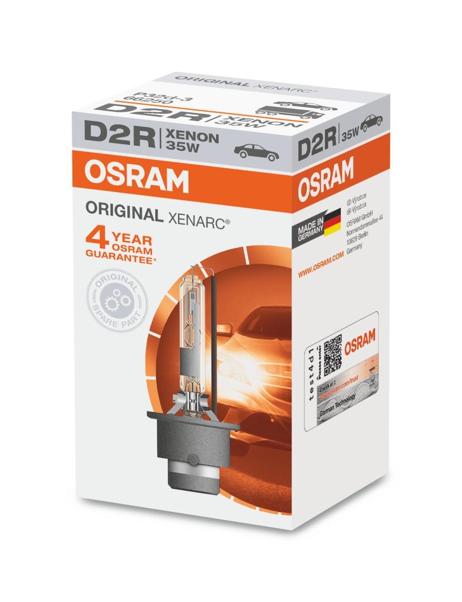 [06.66250CBI] D2R Osram Xenarc Cool Blue Intense Lamp
