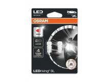 LEDriving SL W2.1X9.5d (W5w) ROUGE, 0,6W
