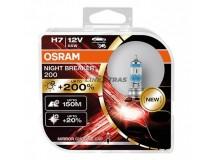 Bulbs H7 OSRAM 12V 55W NIGHT BREAKER 200 [2 UN]