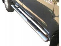 Estribos Toyota Hilux 06-16 DC Inox GPO