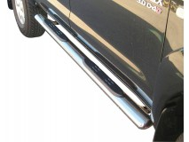 Side Steps Toyota Hilux 06-16 DC Stainless Steel GPO