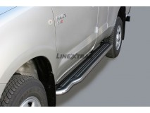 Side Steps Toyota Hilux 06-16 Extra Cab Stainless Steel W/ Platform