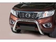 Big Bar U Nissan Navara NP300 D23 2016+ Stainless Steel 76MM W/EC