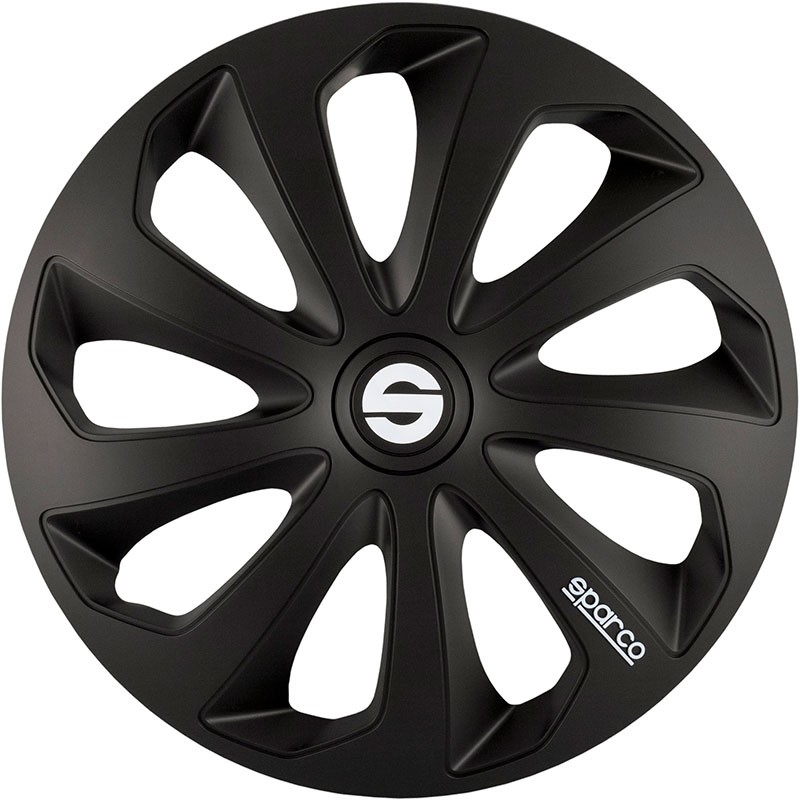 Wheel Trims Sicilia Bicolor 15'' Black Sparco Corsa