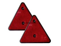2x Reflective Triangle (Screw Fitting)