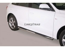 Side Steps Audi Q5 Stainless Steel GPO
