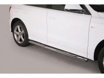 Side Steps Audi Q7 06-15 Stainless Steel DSP