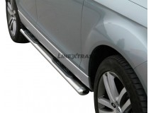 Side Steps Audi Q7 06-15 Stainless Steel GPO