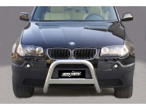 Big Bar U BMW X3 03-05 Stainless Steel W/O EC W/ Leg.