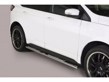 Side Steps Ford Edge 2016+ Stainless Steel DSP
