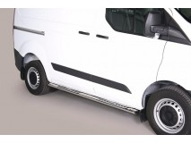 Side Steps Ford Transit Custom 2013+ L1 Stainless Steel DSP