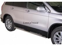 Side Steps Honda CR-V 10-12 Stainless Steel DSP