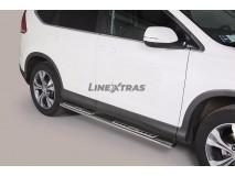Side Steps Honda CR-V 12-15 Stainless Steel DSP