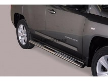 Side Steps Jeep Compass 11-17 Stainless Steel DSP