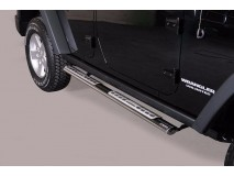 Side Steps Jeep Wrangler 2011+ Stainless Steel DSP