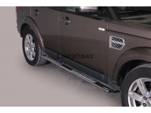 Side Steps Land Rover Discovery 4 Stainless Steel DSP