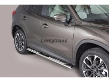 Side Steps Mazda CX-5 15-16 Stainless Steel DSP
