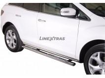 Estribos Mazda CX-7 2010+ Inox DSP