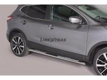 Estriberas Nissan Qashqai 2014+ Inox DSP