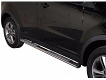 Side Steps Ssangyong Korando Stainless Steel DSP