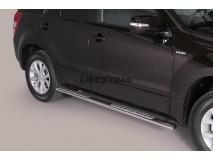 Side Steps Suzuki Grand Vitara 2009+ 5D Stainless Steel DSP