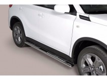 Side Steps Suzuki Vitara 2015+ Stainless Steel DSP