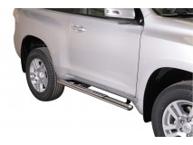 Side Steps Toyota Land Cruiser 150 2009+ 3D Stainless Steel DSP