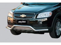 Front Protection Chevrolet Captiva 06-10 Stainless Steel 63MM