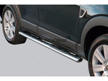 Side Steps Chevrolet Captiva 06-10 Stainless Steel GPO