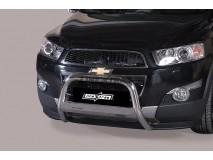 Big Bar U Chevrolet Captiva 2011+ Stainless Steel W/ EC W/ Leg.