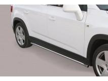 Proteções Laterais Chevrolet Orlando 2011+ Inox Tubo 40MM