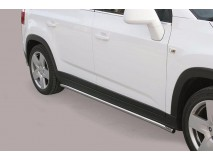 Side Protections Chevrolet Orlando 2011+ Stainless Steel Tube 40MM