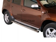 Side Steps Dacia Duster Stainless Steel DSP