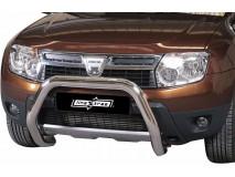 Big Bar U Dacia Duster Stainless Steel 76MM W/O EC