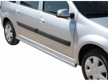 Tubular stirrups Stainless DACIA LOGAN