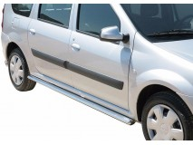 Side Steps Dacia Logan MCV Stainless Steel Oval