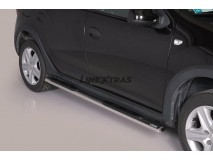 Side Steps Dacia Sandero Stepway 2013+ Stainless Steel GPO
