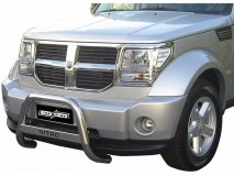 Big Bar U Dodge Nitro 2007+ Stainless Steel W/O EC W/ Leg.