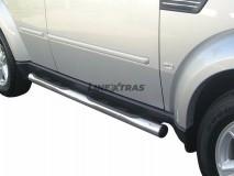 Side Steps Dodge Nitro 2007+ Stainless Steel Tube 76MM