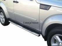 Side Steps Dodge Nitro 2007+ Stainless Steel GPO