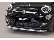 Front Protection Fiat 500X Inox 63ММ