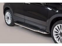 Side Steps Fiat 500X Stainless Steel W/ Platform