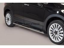 Side Steps Fiat 500X Stainless Steel GPO