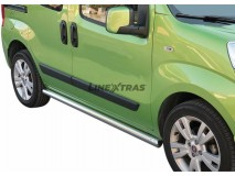 Side Protections Fiat Fiorino 2008+ Stainless Steel Tube 63MM