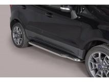 Side Steps Ford EcoSport 2014+ Stainless Steel W/ Platform