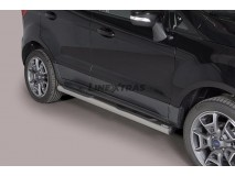 Side Steps Ford EcoSport 2014+ Stainless Steel Tube 76MM