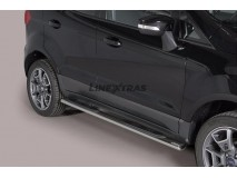 Side Steps Ford EcoSport 2014+ Stainless Steel GPO